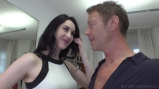 Meri Kriss has a nice tight butthole and become absent-minded chick loves big cocks