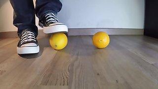 Converse Foot Crush Orange