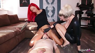 German Domina Let Slave Lick Shake out Teen Pussy Anent Org