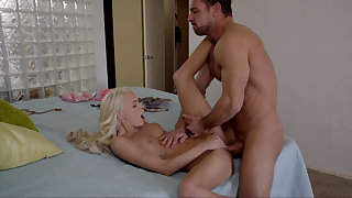 Daddy's cock is better than her BF's