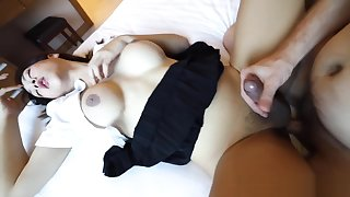 HELLOLADYBOY oriental School Ladyboy fucked In Her cookie